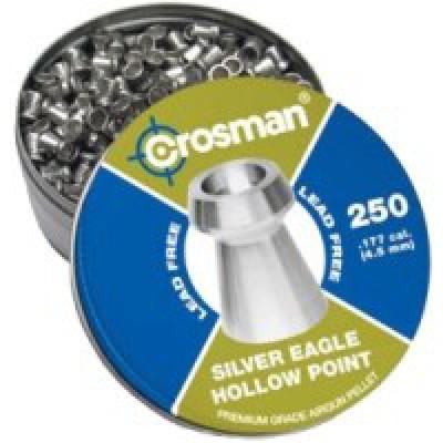 пули Crosman silver eagle HP 4.5 250шт
