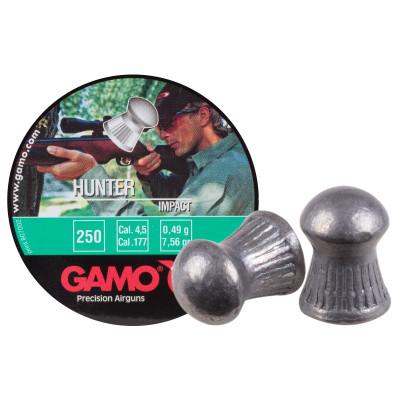 Пули для пневматики cal. 4.5mm, Gamo Hunter Impact 0.49гр