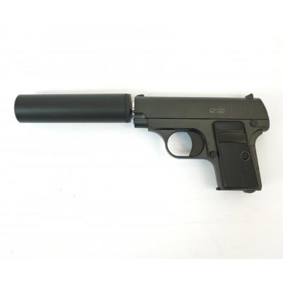 Страйкбольный пистолет Stalker SA25S Spring (Colt 25, с глушителем)