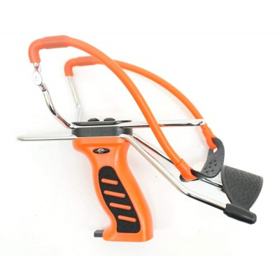 Рогатка оранжевая ручка (детская)