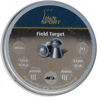 Пули для пневматики cal. 5.5mm, H&N Sport Field Target 1,06гр