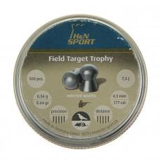 Пули для пневматики cal. 4.5mm, H&N Sport Field Target Trophy 0,56гр