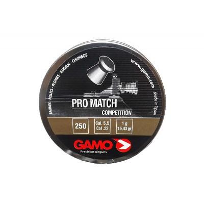 Пули для пневматики cal. 5.5mm, Gamo Pro Match Competition 1,00гр