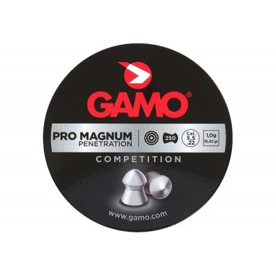 Пули для пневматики cal. 5.5mm, Gamo Pro Magnum Penetration 1,00гр