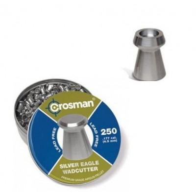 Пули для пневматики cal. 4.5mm, Crosman Silver Eagle WC (Wadcutter) 0.31гр