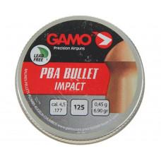 Пули для пневматики cal. 4.5mm, Gamo PBA Bullet Impact 0.45гр