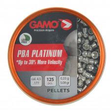 Пули для пневматики cal. 4.5mm, Gamo PBA Platinum 0.33гр