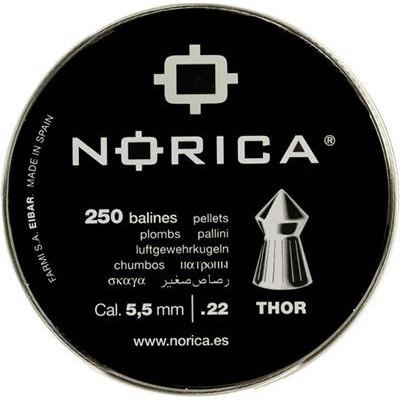 Пули для пневматики cal. 5.5mm, Norica Thor 0,77гр