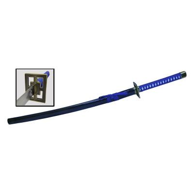 Катана сувенирная, x2024 синяя