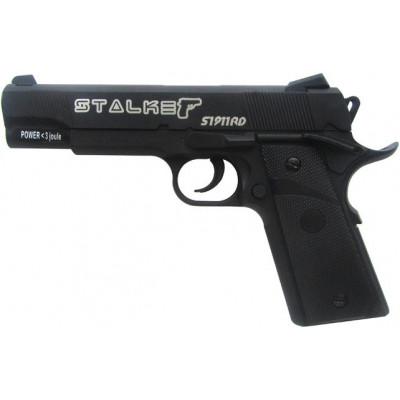 Пневматический пистолет cal. 4.5mm, Stalker S1911RD