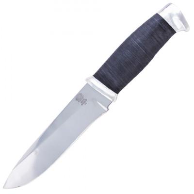 Нож ЗЗоСС Златоуст, Н1, сталь ЭИ-107, рукоять: дюраль, граб