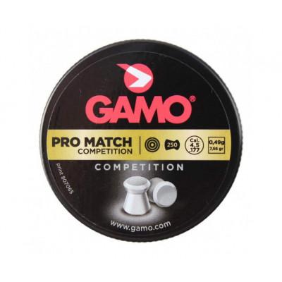 Пули для пневматики cal. 4.5mm, Gamo Pro Match Competition 0.49гр