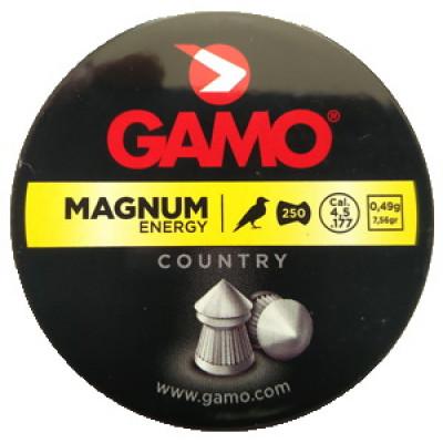 Пули для пневматики cal. 4.5mm, Gamo Magnum Energy 0,49гр