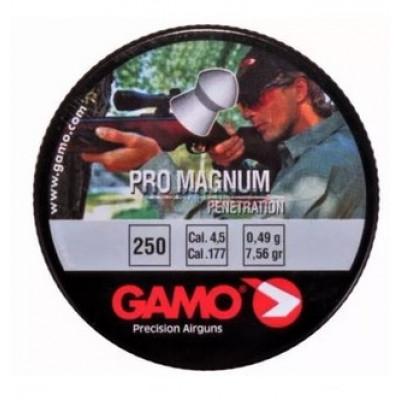 Пули для пневматики cal. 4.5mm, Gamo Pro Magnum Penetration 0.49гр