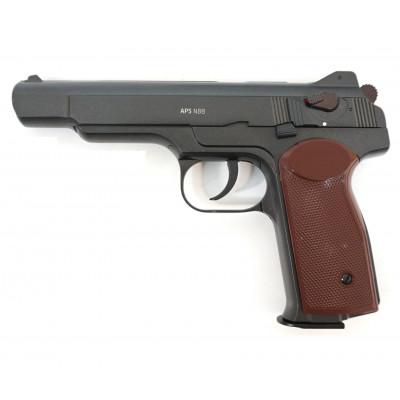 Пневматический пистолет cal. 4.5mm, Gletcher APS NBB реал