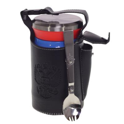 Термос для еды с ложкой, 620ml