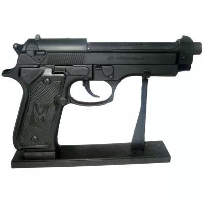 Зажигалка газовая, пистолет Beretta малая