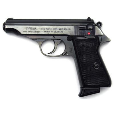 Пневматический пистолет cal. 4.5mm, Umarex Walther PPK/S (рреал)