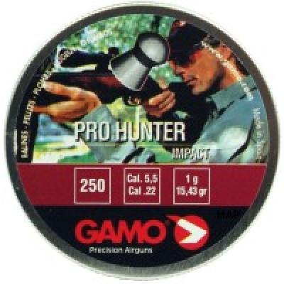Пули для пневматики cal. 5.5mm, Gamo Pro Hunter Impact 1,00гр