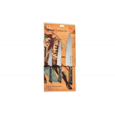 Набор Кухонных Ножей 3 шт Samura SHR-0220B/A (Harakiri)