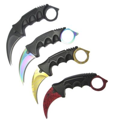 Нож керамбит, CS (с веревкой и ножнами)