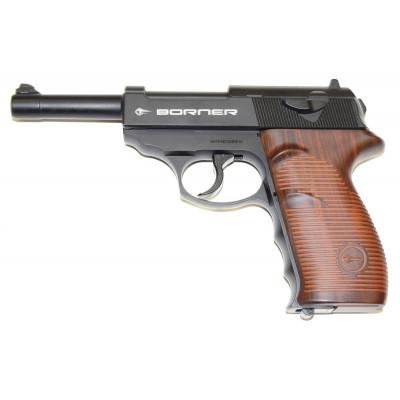 Пневматический пистолет cal. 4.5mm, Borner C41 (Walther P.38)