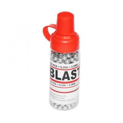 Шары стальные, омеднённые cal. 4.5mm, ASG Blaster bb300