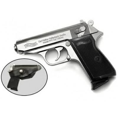Зажигалка газовая, пистолет Вальтер (Walther PPK)